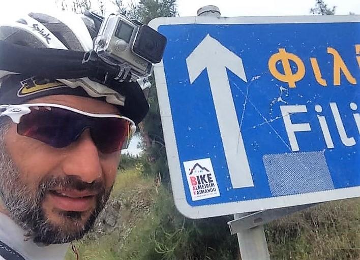 Um mês depois de partir de Almeirim a aventura de Pedro Bento Continua (VÍDEO)
