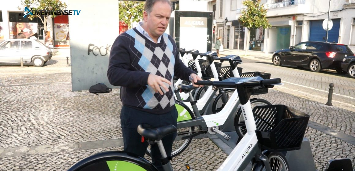 VÍDEO – Novas bicicletas já giram na cidade de Almeirim