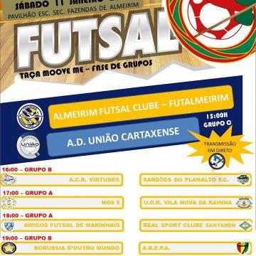 Fazendas de Almeirim recebe Taça de Futsal Amador