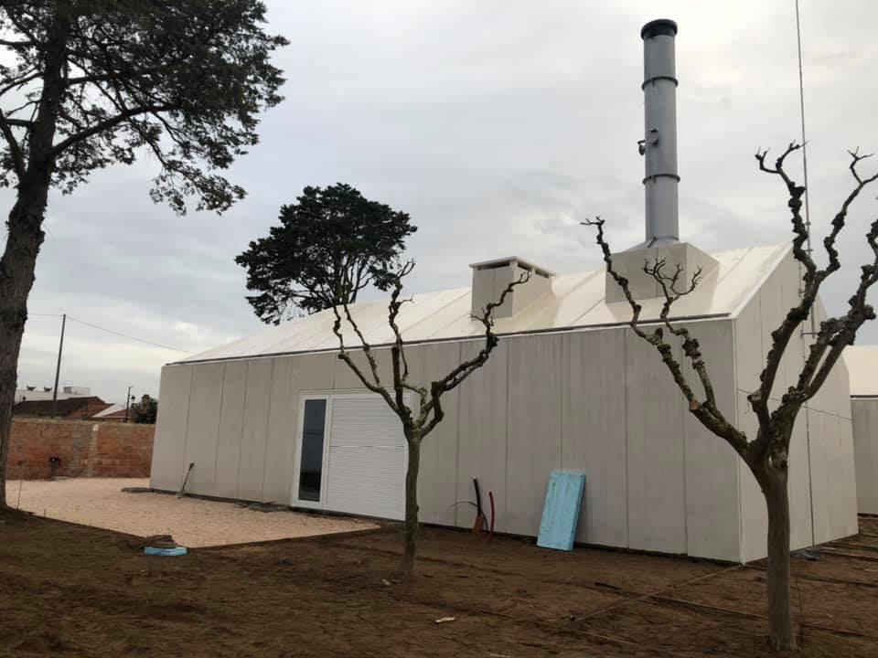 Primeiro Crematório do distrito a dias de estar pronto