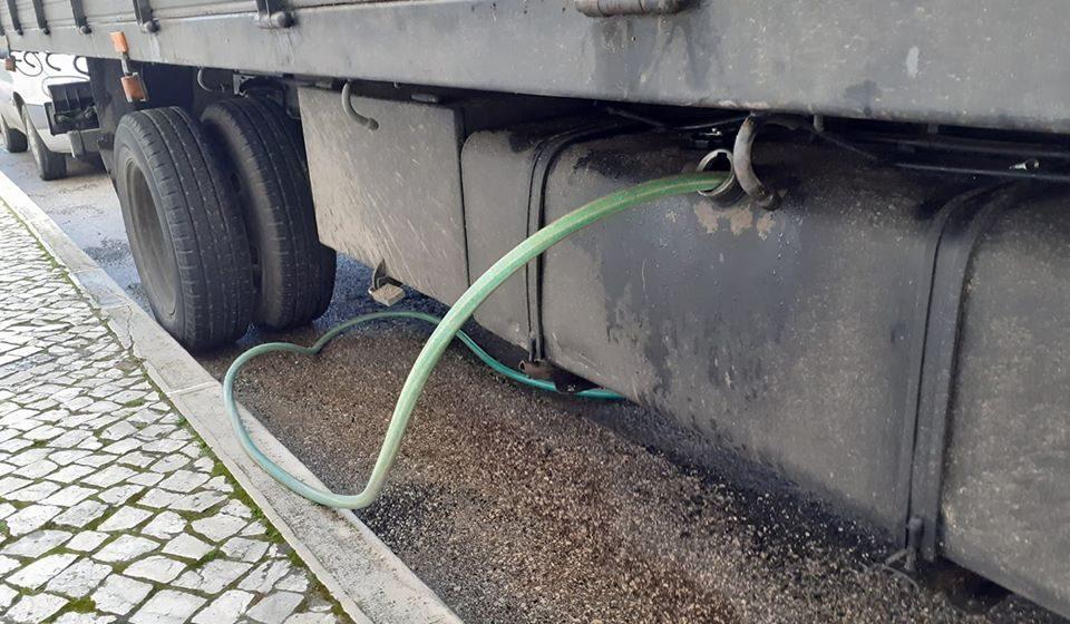 Combustível roubado em Almeirim