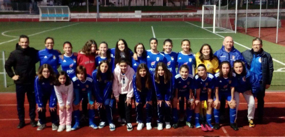 U. Almeirim joga título em Iniciadas de femininos em futebol 7