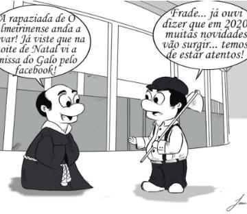 Cartoon- 1 de janeiro