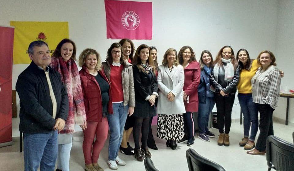 Teresa Aranha é líder da comissão Política Concelhia das Mulheres Socialistas de  Almeirim