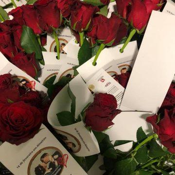 Mais de 3000 rosas e vinho à espera dos namorados nos restaurantes de Almeirim