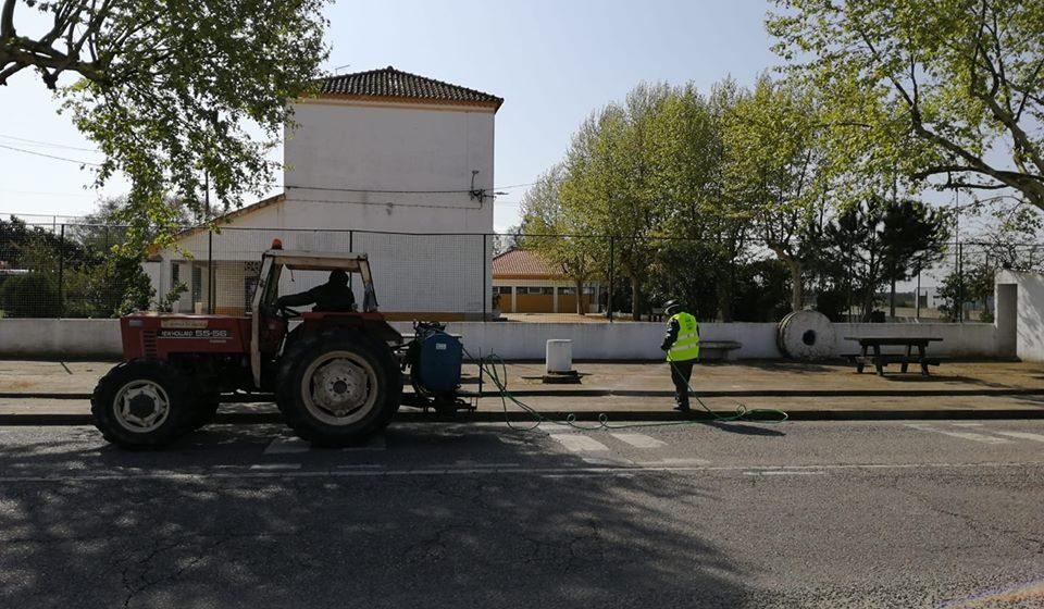 Coronavírus: Desinfestação em Benfica e Raposa