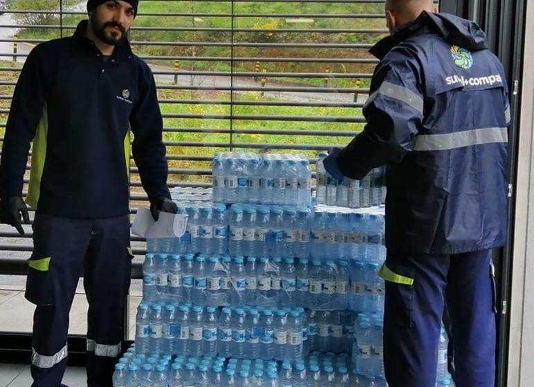 Coronavírus: Compal dá água a Bombeiros e Hospitais