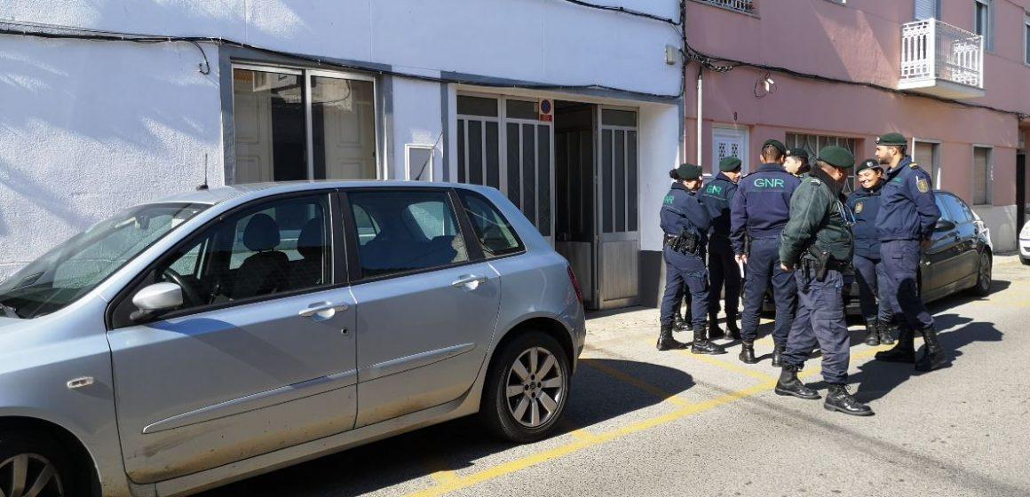 Operação de combate à imigração ilegal em Almeirim