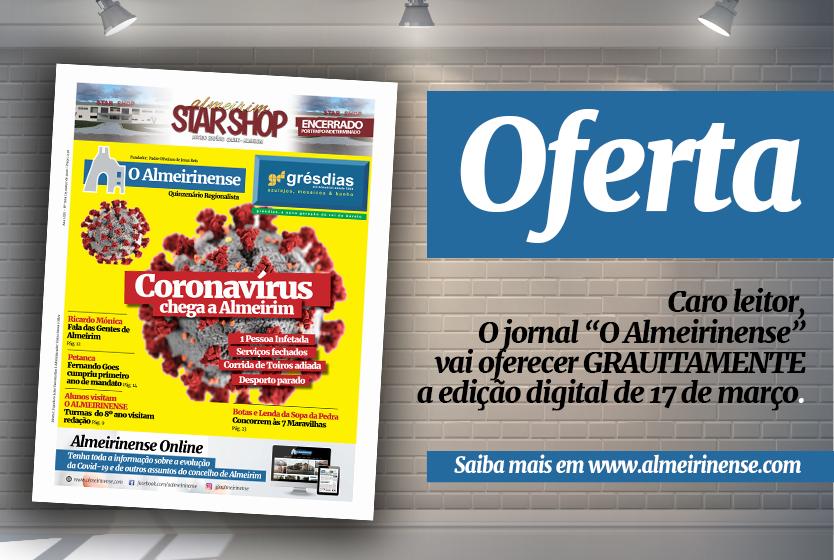 Jornal O ALMEIRINENSE distribuído gratuitamente