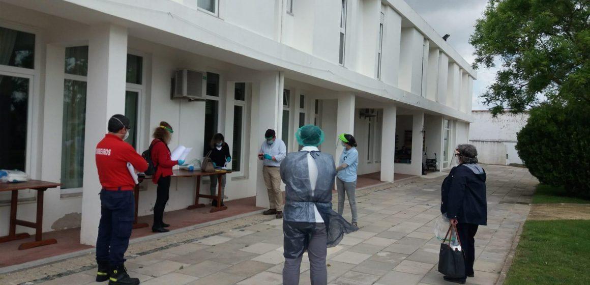 Coronavírus: Equipa multidisciplinar municipal visita Lar S. José