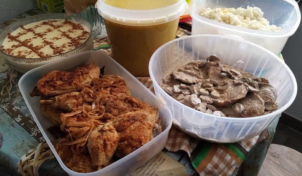 Gesto Gigante: Gentes de Almeirim entregam refeição a infetado com coronavírus