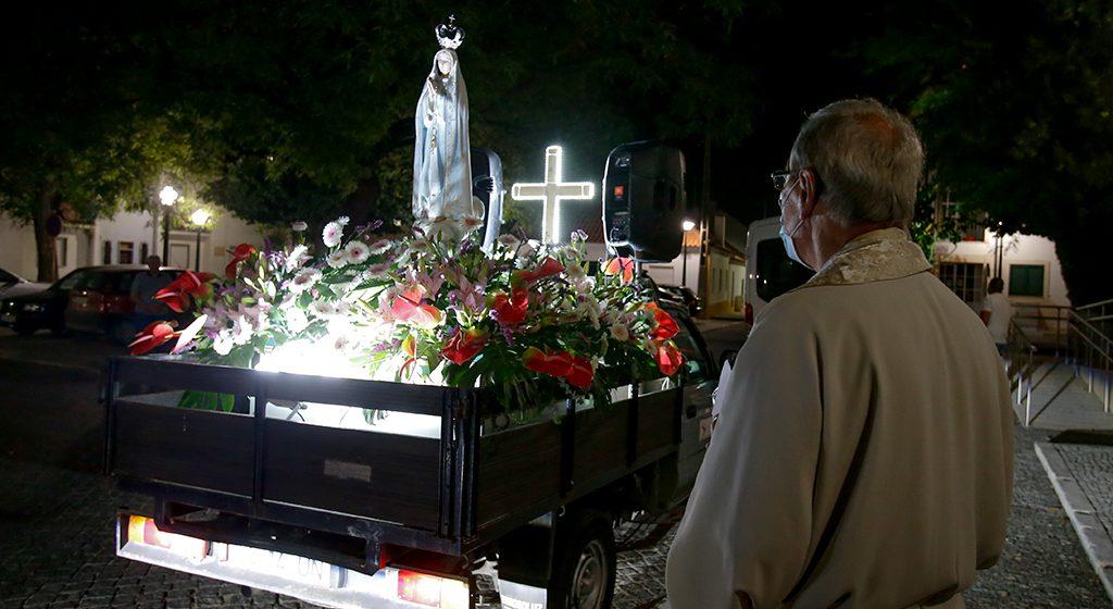 Visita de Nossa Senhora de Fátima transmitida em direto na Almeirinense TV