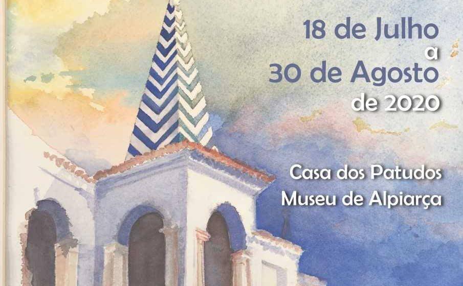 Almeirinense Carlos Cerveira expõe aguarelas na Casa dos Patudos