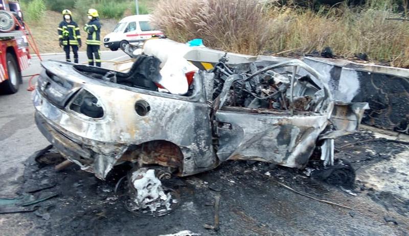 Jovem desaparecido morre em acidente