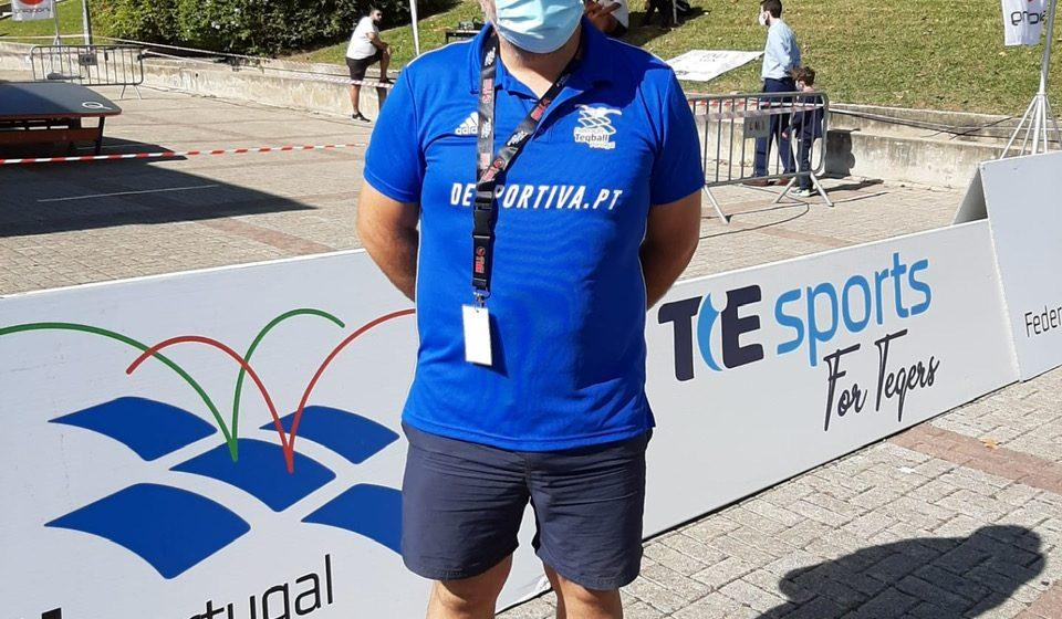 Teqball: Árbitro de Almeirim  dirige etapa do circuito nacional