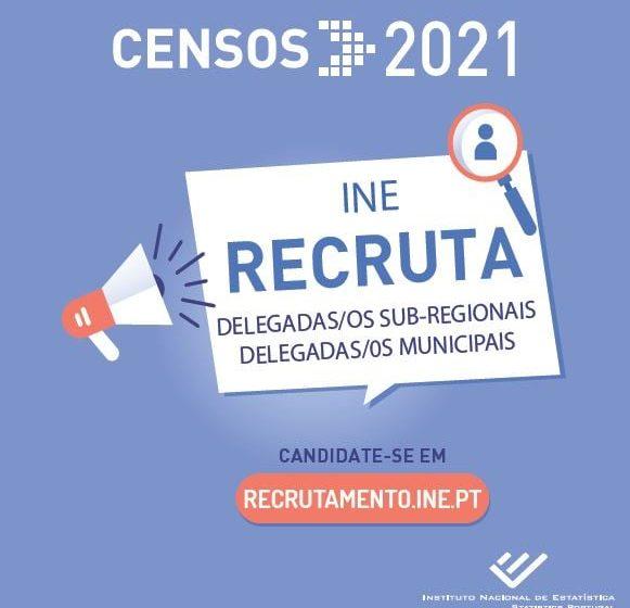 Censos 2021 vão começar: Recrutamento