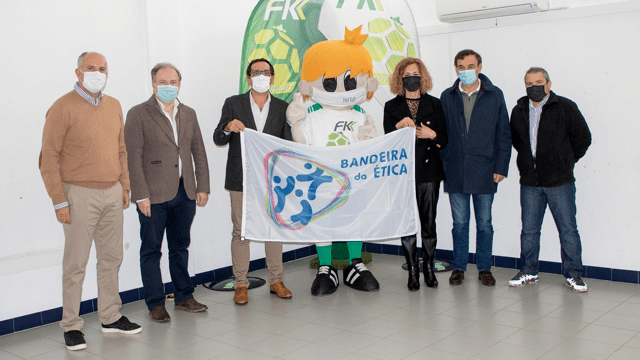 Footkart recebe Bandeira da Ética
