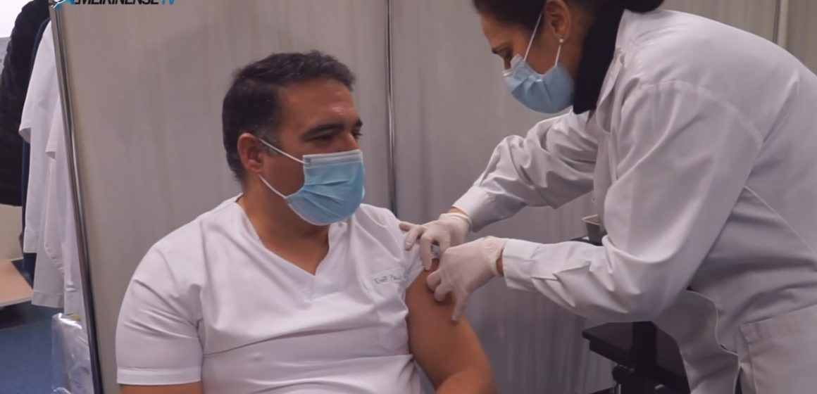 Covid-19: Profissionais de Saúde começaram a ser vacinados