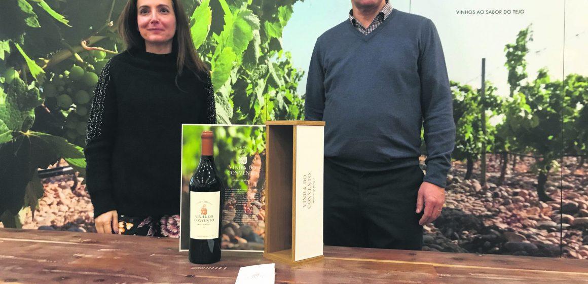 Falua tem vinha única