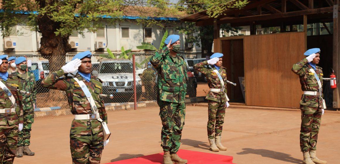 Almeirinense chega a 2.º Comandante da Missão na República Centro Africana