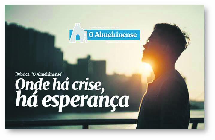 Onde há crise, há esperança: 13 de maio de 2021