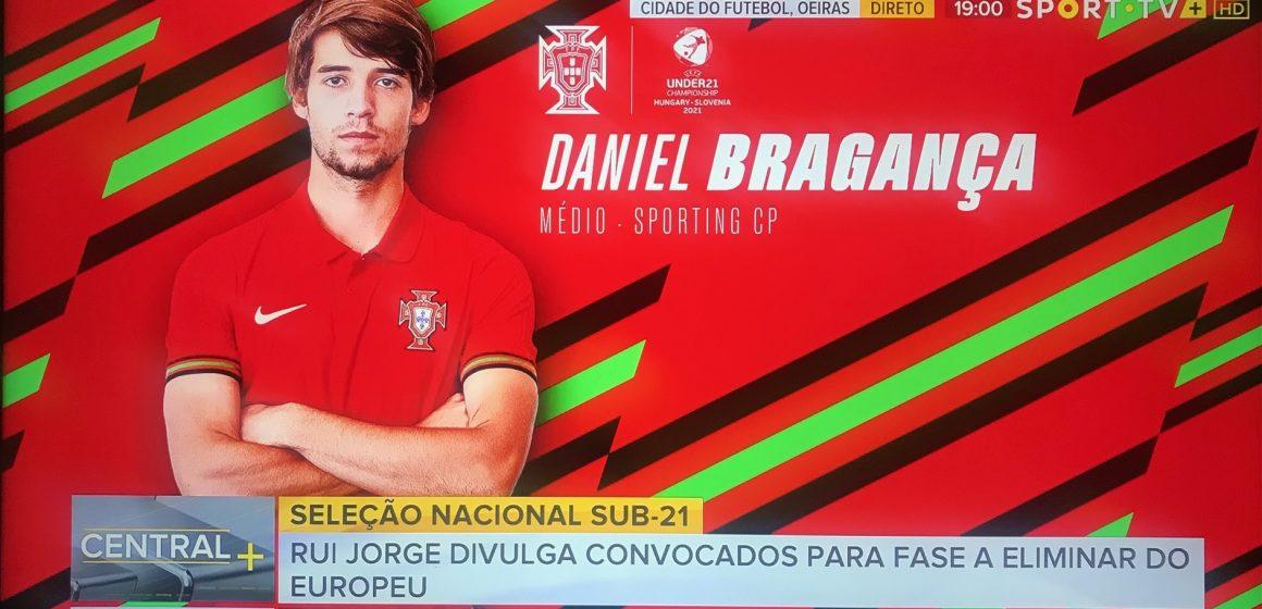 Daniel Bragança convocado para o Europeu