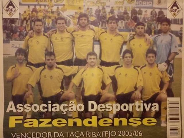 Memórias: Faz hoje anos que Fazendense ganhou primeira Taça do Ribatejo