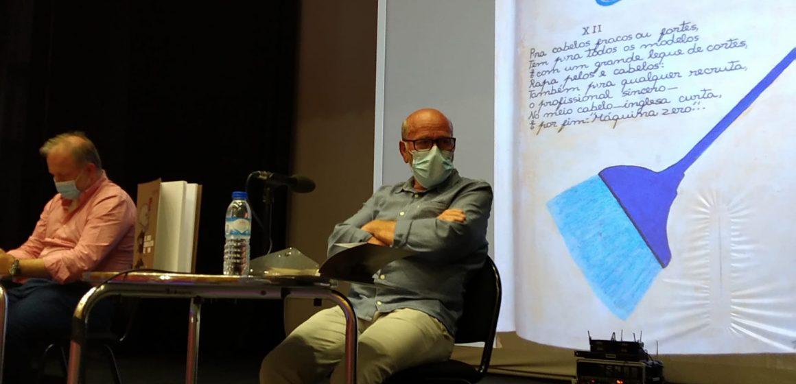 Rogério Martins apresentou seu primeiro livro no Cine Teatro de Almeirim
