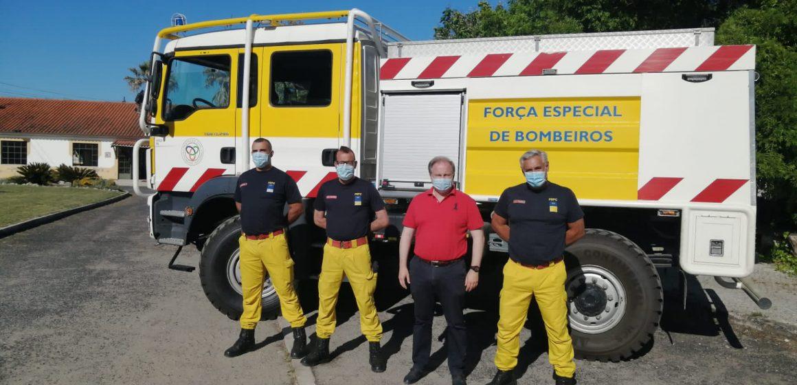 Almeirim recebe base no combate aos incêndios florestais
