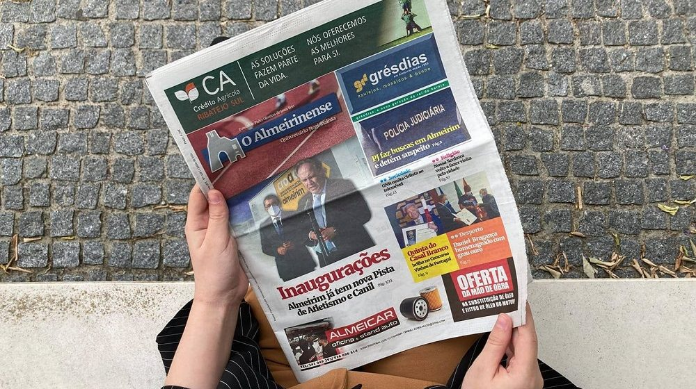 """""""O Almeirinense"""" lança oferta de assinaturas digitais"""