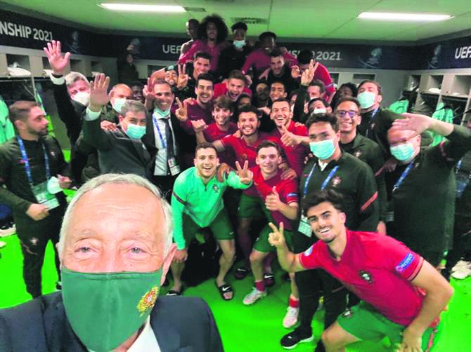 Bragança assiste no Europeu