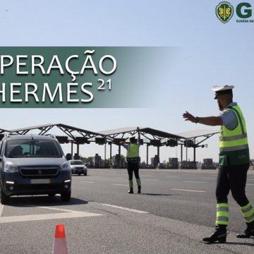 """Dados da Operação """"Hermes – Viajar em Segurança"""""""