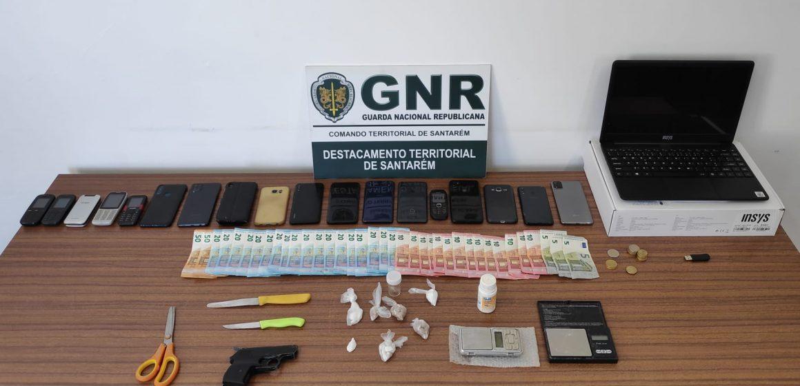Seis detidos em Almeirim por tráfico de estupefacientes