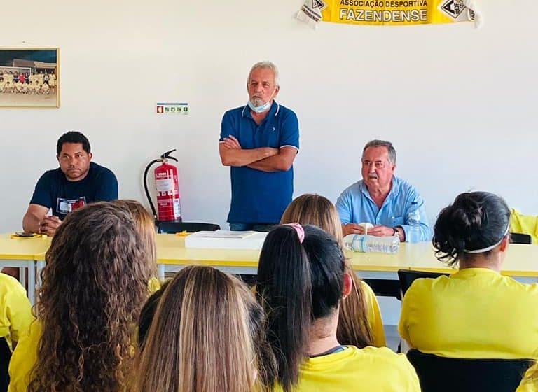 Toni Pereira regressa ao Fazendense… para palestra