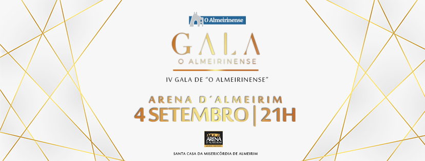 IV Gala o Almeirinense com transmissão em direto