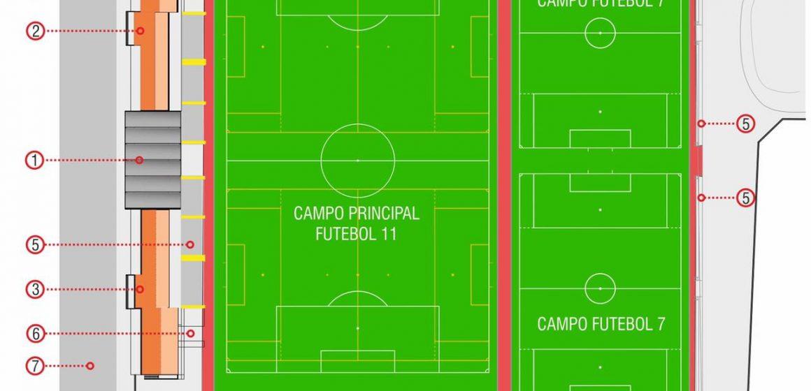 Câmara lança concurso para mais três campos no Estádio Municipal