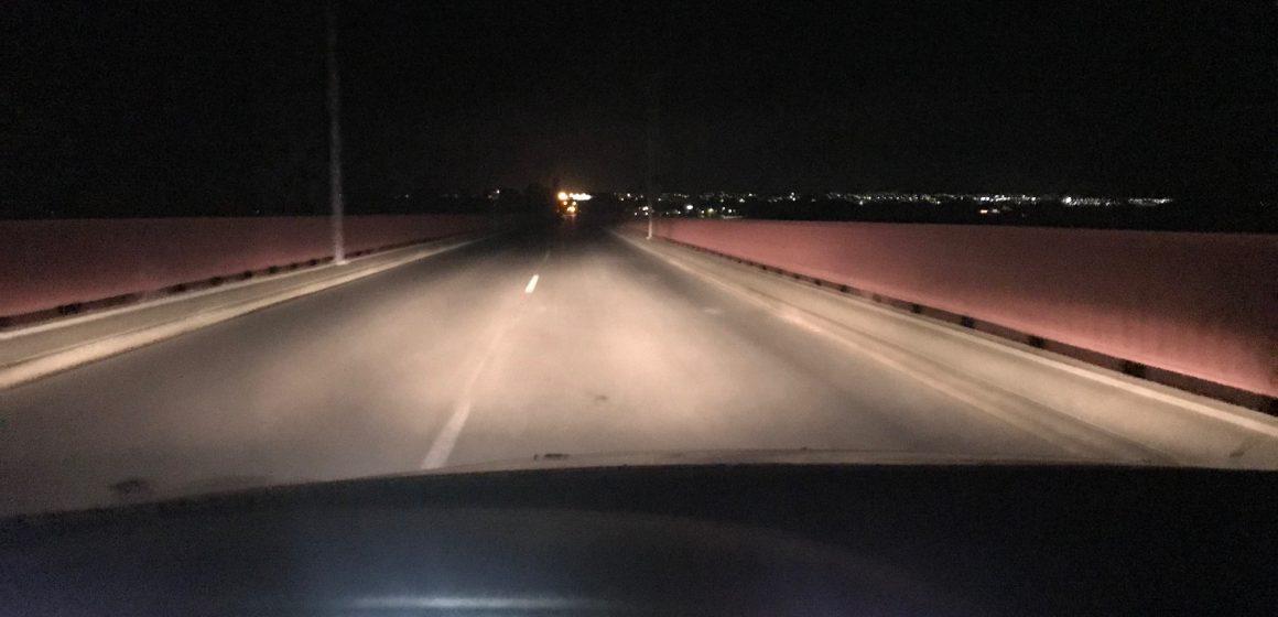 Ponte D. Luís a meia luz