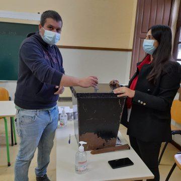 Eleições Autárquicas: José Carlos Avó vota
