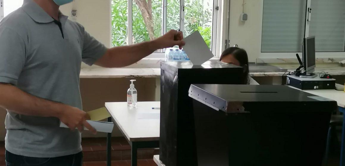 Eleições Autárquicas: Paulo Colaço vota