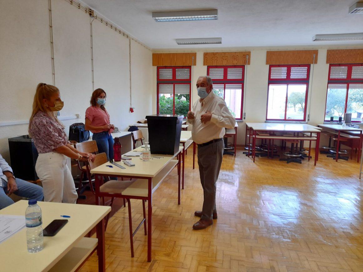 Eleições Autárquicas: Manuel Bastos Martins vota