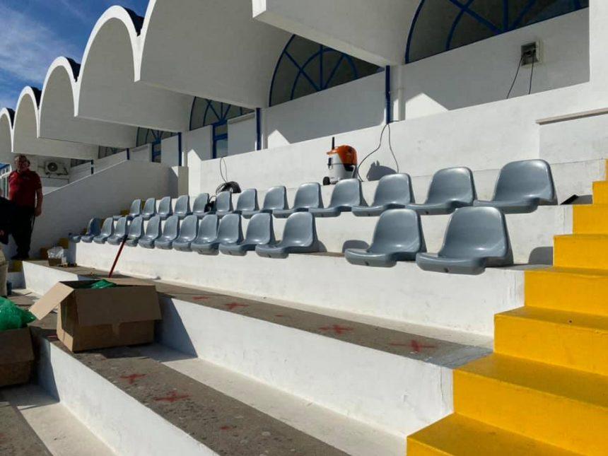 16 mil euros para cadeiras no Estádio
